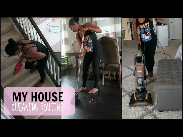 MY HOUSE CLEANING ROUTINE