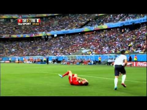 Switzerland France 2014 World Cup Full Game ITV
