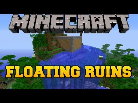 Minecraft mod showcase floating ruins mod mod review