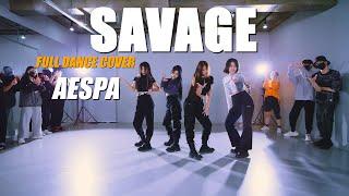 Download lagu [DANCE PRACTICE] aespa 에스파 'Savage' full dance coverㅣPREMIUM DANCE STUDIO