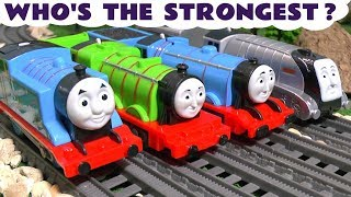 Thomas & Friends Strongest Engine Competition with the funny Funlings - Kids Toy Train Story TT4U