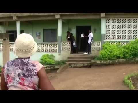 Tour of Trinity Academy in Tutu Ghana Oct 2015