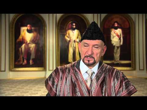 Der Diktator - Sir Ben Kingsley (Tamir) über die Arbeit mit Sacha (Interview)