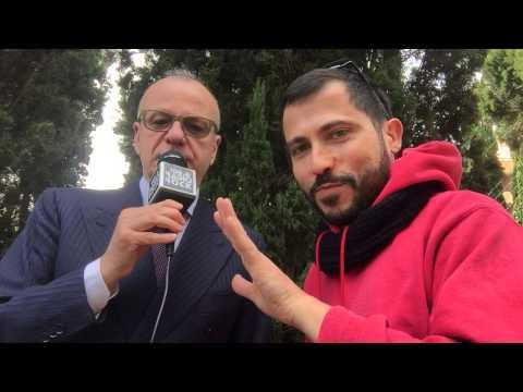 Gianfranco Rotondi canta Edoardo Bennato al Karaoke Rock Bike di Radio Rock