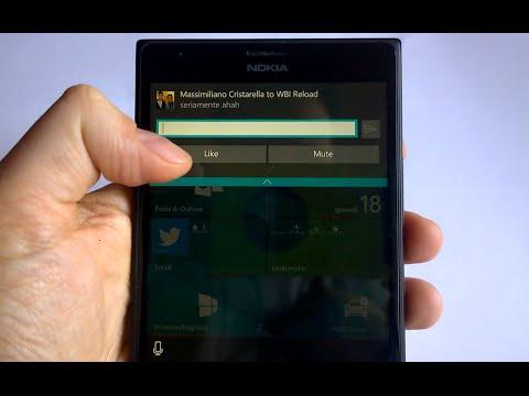 Facebook Messenger Interactive Notifications on Windows 10 Mobile