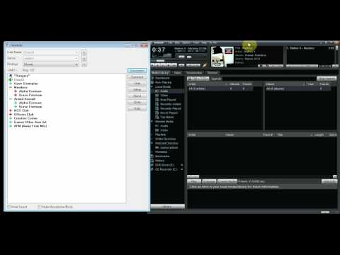 Playing Music In Ventrilo (With Windows 7/Vista Fix and Bot Tutorial)