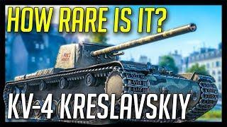 ► What is KV-4 Kreslavskiy? - World of Tanks Rare Tanks: KV-4 Kreslavskiy Gameplay