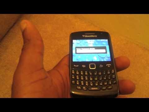 Remove Blackberry Password if Forgotten