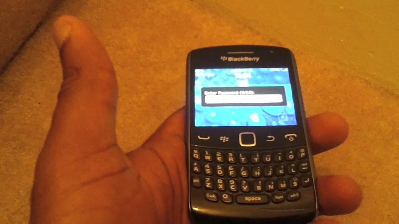 Blackberry Password Remove Blackberry Password if