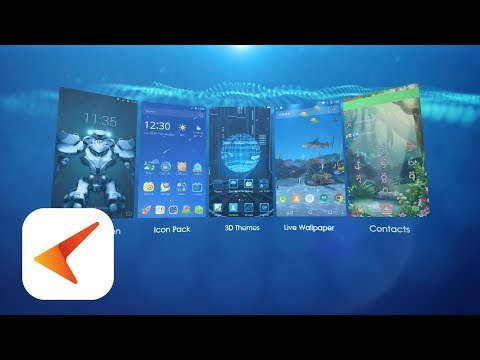 CM Launcher 3D - Personalizat, securizat APK Cover