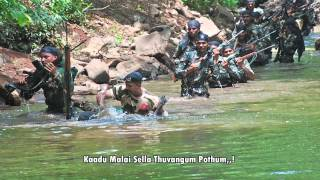 Thuppakki - Thuppakki Poi Varava song dedicated to military soldiers. All patriots pls watch.