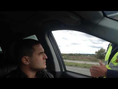 Нарушитель инспектор ГАИ или Санька? - Дорожный Контроль