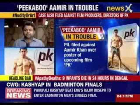 Shahrukh Khan reacts on Aamir's PK poster controversy