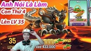 ✔️ Con Rồng High Thứ 4 Lên LV 35 DRAGON CITY💲HNT chơi GAME NÔNG TRẠI Rồng#459