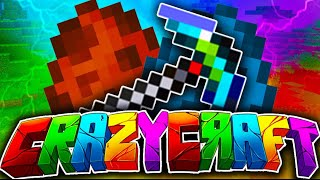 minecraft pe 0.13.1 crazycraft mod pack final sürüm