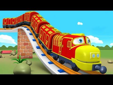 Chu Chu Train Cartoon Video for Kids Fun - Toy Factory