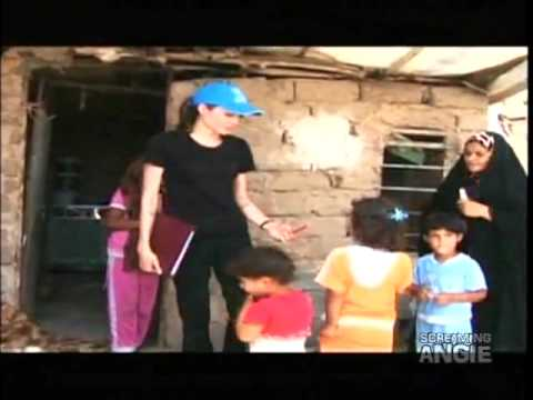 Angelina Jolie In iraq 2009 - UNHCR
