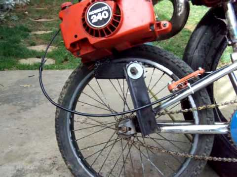 Chainsaw Bike With Expansion