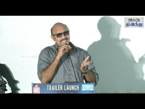 Sathyaraj Humorous speech at 'Night Show' Trailer Launch | Sathyaraj | Antony | Surya
