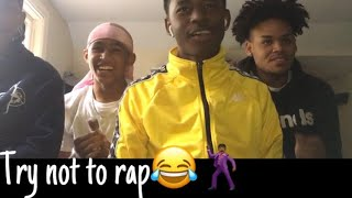 Try not to rap😂🤠🕺🏾// like comment and subscribe and turn on post notifications🕺🏾