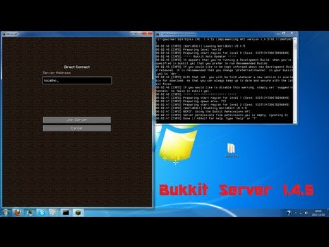 [How to] Create a Bukkit 1.7.2 Server, and install plugins [Download & Insta