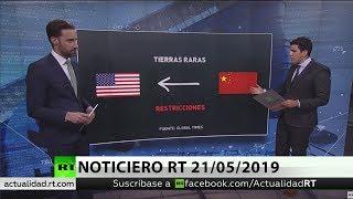 NOTICIERO RT 21/05/2019 🔴 Tras el veto de EE.UU., Huawei ya prepara su propio sistema operativo