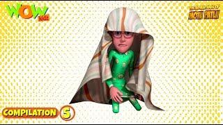 Motu Patlu - Non stop 3 episodes | 3D Animation for kids - #5