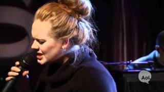 Adele Video - Adele- Someone like you (AOL Sessions LIVE)