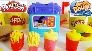 Moon Dough & Play-Doh Diner, Burgers, Fries, Pies, & Drinks