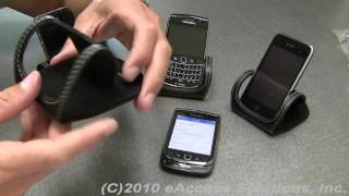 eAccess Mobile Device Leather Desktop Stand Video Overview