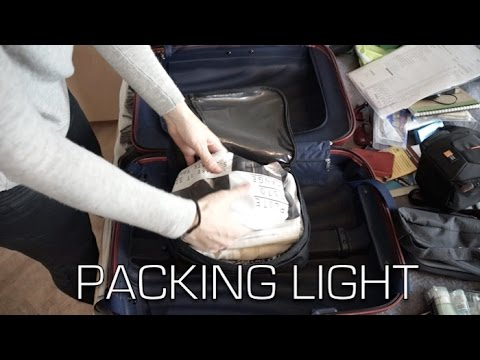 LIGHT TRAVELING: Packing in carry-on for 2 months