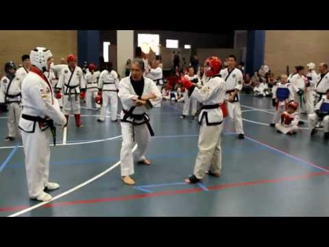 2012 World Tang Soo Do Championships - Bronze Medal Match Image 1