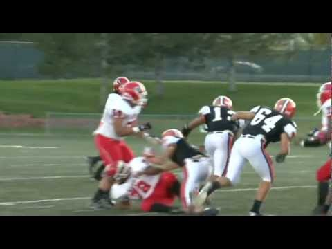 Wide Open! Best Football Plays! Denver East vs. Lakewood High School Football