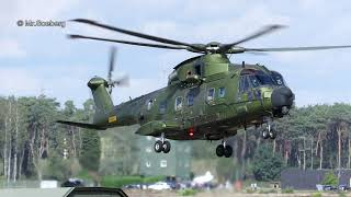 TIGER, NH90, MERLIN, CHINOOK, MD902, arrivals, BAFD at KB