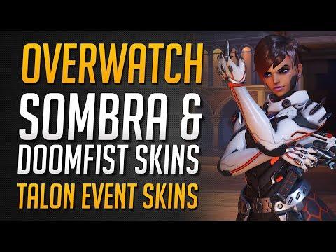 SOMBRA & DOOMFIST TALON SKINS | Overwatch Archiv Event Skins ★ Overwatch Deutsch