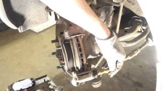How to replace front brake pads Hyundai and Kia years 2008 to 2015