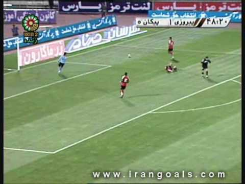 Perspolis Tehran v. Paykan Ghazvin Goals IPL Week 32 April 12, 2009.