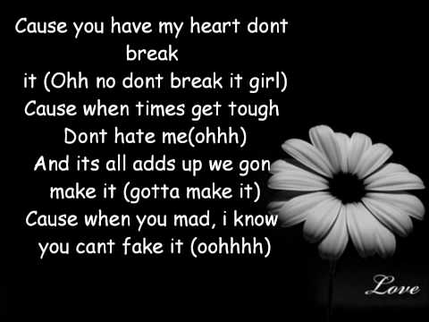 Love Dont Change - Jeremih (Lyrics)