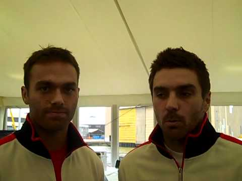 Ross Hutchins & Colin Fleming talk ahead of their Davis Cup tie against Belgium
