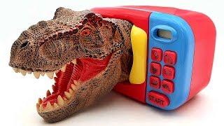 Toys Surprise Dinosaur Big Heads! Dinosaurs Transforming Dino Lego, Big Head Toy Box For Kids
