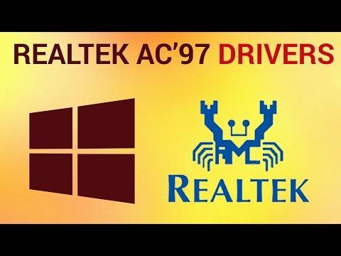 Скачать Realtek ac97 - Realtek AC97 Driver