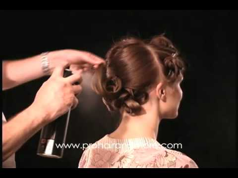 Como hacer un peinado de noche o boda paso a paso solo para estilistas by phm youtube - Como hacer peinado para boda ...