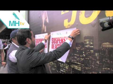 Suspende MH anuncios publicitarios irregulares en vía pública
