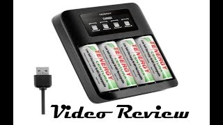 Tenergy TN474U Double A Battery USB Combo Pack Review