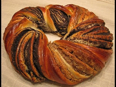 плетенка с грецким орехом