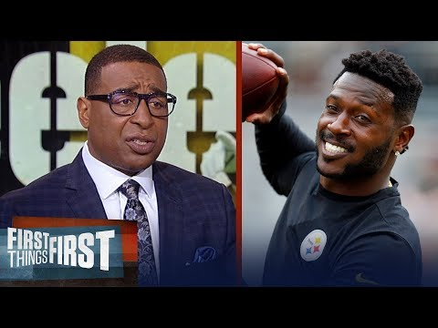 Cris Carter lists the best destinations available for Antonio Brown  NFL  FIRST THINGS FIRST