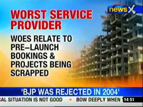 Real estate dubbed as worst service provider