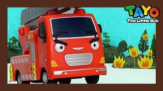 Tayo Frank the Fire Truck l What does fire truck do? l Tayo Job Adventure l Tayo the Little Bus