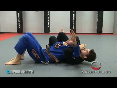 Gi Choke from the Crucifix - Jiu Jitsu in Denville, Rockaway, Morris County NJ Image 1
