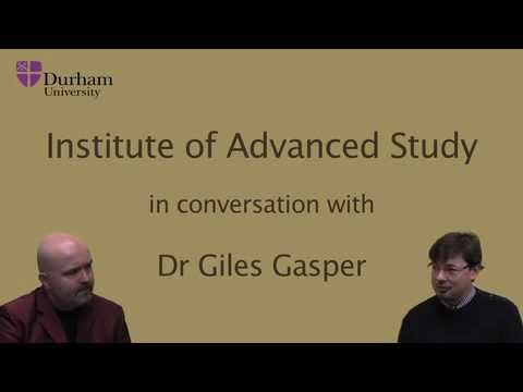 Time in conversation with Dr Giles Gasper